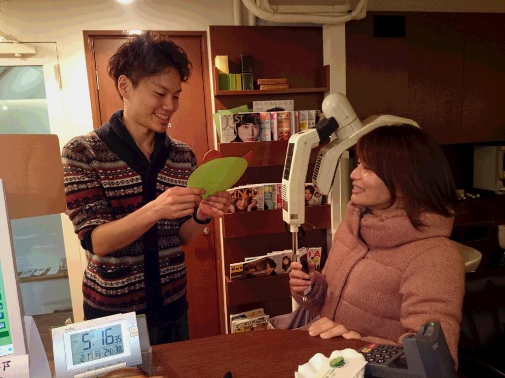 池袋美容室お客様大賞2.17ドラミちゃん②
