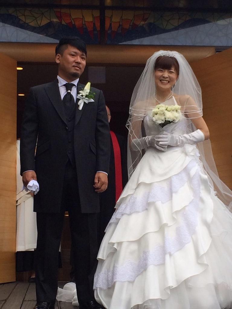 池袋美容室高橋さん結婚式